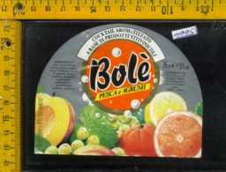 Etichetta Vino Liquore Cocktail Aromatizzato Bole - Foggia - Etichette