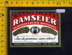 Etichetta Vino Liquore Cidre Ramseier - Svizzera - Etichette