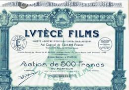 75-LUTECE FILMS. DECO - Actions & Titres