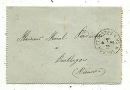 Lettre , 1915 , TRESOR ET POSTES ,26 , BERTHEGON , VIENNE  , 3 Scans - 1877-1920: Période Semi Moderne