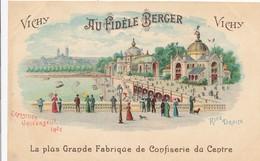 CPA - France - (03) Allier - Vichy - Au Fidèle Berger - La Plus Grande Fabrique De Confiserie Du Centre - Vichy