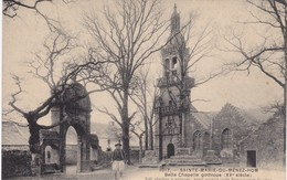 SAINTE-MARIE-du-MENEZ-HOM - Belle Chapelle Gothique Du XVè Siècle - TBE - France