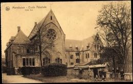 Cp Maredsous Anhee Wallonien Namur, Ecole Abbatiale,est - België
