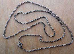 CHA-F023 Chaine En Ag (poinçon) Maille Forçat - Autres