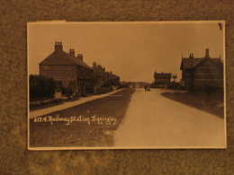 FINNINGLEY RAILWAY STATION RP PU 1924 - England