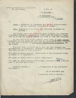 MILITARIA MARINE RARE DOSSIER 1945  DU BATEAU NOTRE DAME DE DE LISIEUX CONSTAT DE REPRISE CLAMART OFFICE DE NAVIGATION - 1939-45
