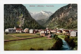- CPA MALLNITZ (Autriche) - Tauernbahn 1910 - Verlag LEON KLAGENFURT 2072 - - Mallnitz