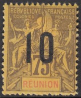 N° 79 - Neuf Sans Gomme - - Isola Di Rèunion (1852-1975)