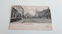 *CORTEMARK  Markt  Oblitéré En 1904 - Kortemark