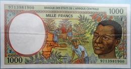 Etats De L'Afrique Centrale Congo 1000 Francs - Congo