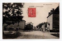 - CPA SAINT-OYEN (71) - Route De Lyon 1907 - Edition B. F. - - Frankreich