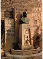 CPM* N°2194 - LE BAR SUR LOUP - MONUMENT A L' AMIRAL COMTE DE GRASSE + CACHET BAR RESTAURANT P.M.U. DE L' AMIRAL - Other Municipalities