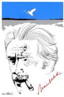 [MD2727] CPM - 80° COMPLEANNO DEL NARRATORE MARIO SOLDATI - 1986 - TIRATURA LIMITATA - ILL. NANI TEDESCHI - NV - Scrittori