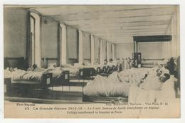 75 - Paris -        Le Lycée Janson De Sailly Transformé En Hôpital - Bildung, Schulen & Universitäten