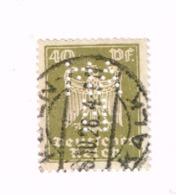 """Perforé """"AMH"""" Sur Aigle.Yvert 353 - Allemagne"""
