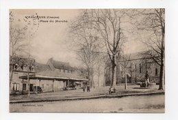 - CPA VALLIERES (23) - Place Du Marché 1916 - Edition Martichout - - Frankreich