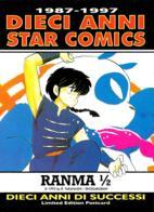 [MD2741] CPM - FUMETTI - 10 ANNI DI STAR COMICS - RANMA 1/2 - LIMITED EDITION POSTCARD - NV - Fumetti