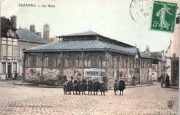 51 - SEZANNE -- La Halle - Sezanne