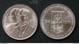 Thailand Coin 20 Baht 2010 100h  Vajiravudh UNC - Thaïlande