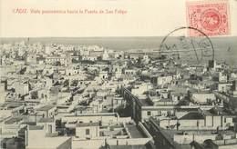 CADIZ - Vista Panoramica Hacia La Puerta De San Felipe. - Cádiz