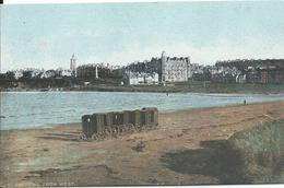 Royaume Uni Ecosse St Andrews From West Cabines De Bains Rare - Schotland