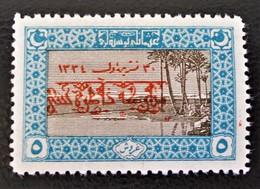 SURCHARGE ROUGE 1919 - LES PYRAMIDES D'EGYPTE - NEUF * - YT 588 - 1858-1921 Empire Ottoman
