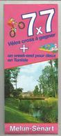 Dépliant Touristique, Les Villages Jeunes De MELUN-SENART, 16 Pages,plan , 1985, Lieusaint..., 4 Scans, Frais Fr 1.75 E - Dépliants Touristiques
