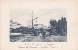 """CPA Souvenir Du Museo Social Argentino à L'Expo Internationale De Gand 1913 - Raffinerie """"Ingenio San Juan"""" - Expositions"""
