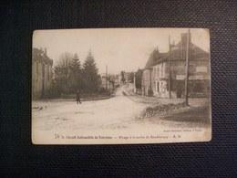 Carte Postale Ancienne - Circuit Automobile De Touraine - Virage à La Sortie De Semblançay - Semblançay