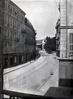 Nice Négatif Sur Plaque De Verre Format 12x9 Rue Gubernatis - Glasdias