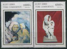 1994 Cipro Del Nord, Arte Contemporanea, Serie Completa Nuova (**) - Nuovi