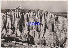 CPSM 10X15 De FECAMP  (76) - Les FALAISES Et Le SEMAPHORE- VUE AERIENNE N° 31738A - Fécamp