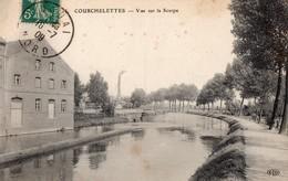 CPA  - Batellerie - 59 - COURCHELETTES - Vue Sur La Scarpe - France