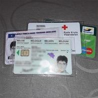 10 étuis Pour Carte D'identité - Carte De Membre - Permis De Conduire - Vieux Papiers