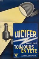 VERTIL - Lucifer. Depuis 1910 Toujours En Tête. - Affiches