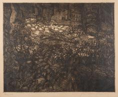 Jac BOONEN (Tongerlo, 1911 – Borchtlombeek, 1968) - Mar - Estampes & Gravures