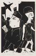 Fabien DELVIGNE (Boulogne-sur-Mer, 1958 -) - Toujours P - Estampes & Gravures