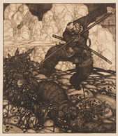 Attribué à Josef Von DIVEKY (Farmos (Hongrie), 1887 - Sopron (Hongrie), 1951) - Estampes & Gravures
