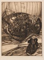 Josef Von DIVEKY (Farmos (Hongrie), 1887 - Sopron (Hongrie), 1951) - Estampes & Gravures