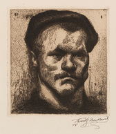 Frantz NACKAERTS (Kessel-Lo, 1884 - Holsbeek, 1948) - R - Estampes & Gravures