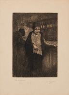 Kurt PEISER (Anvers, 1887 - Uccle, 1962) - La Soularde. - Estampes & Gravures
