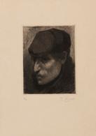 Kurt PEISER (Anvers, 1887 - Uccle, 1962) - [Tête D'un H - Estampes & Gravures