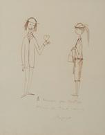 Raymond PEYNET (Paris, 1908 - Mougins, 1999) - [Un Coup - Estampes & Gravures