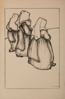 W. J. VAN DAM - [Trois Nonnes]. - Estampes & Gravures