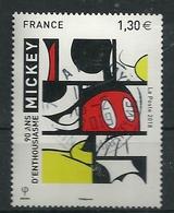FRANCE 2018 -  Mickey Et La France 90 Ans - Cachet Rond - France
