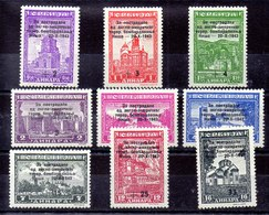 Serie Ocupación Alemania Serbia N ºMichel 99/07 ** - Ocupación 1938 – 45