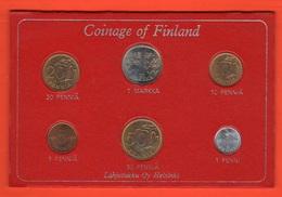 Finlandia Finland Monete Serie 1971 Set Coins - Finlandia