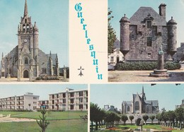 Carte 1970 GUERLESQUIN / MULTIVUES - Guerlesquin