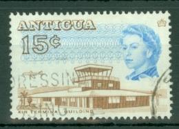 Antigua: 1966/70   QE II - Pictorial     SG188a    15c  [Perf: 13½]    Used - Antigua & Barbuda (...-1981)