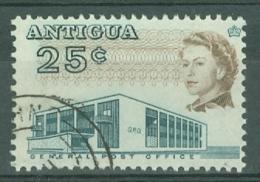 Antigua: 1966/70   QE II - Pictorial     SG189    25c      Used - Antigua & Barbuda (...-1981)